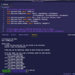 screen cap from VS code showing Python code for EV3